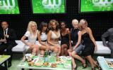 CW Upfront VIP lounge