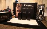Pilot Pen Fashion Week style lounge