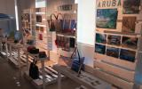 Aruba Artist Market Display