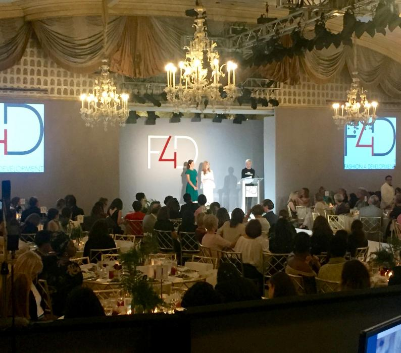 Fashion 4 Development First Ladies luncheon NYC