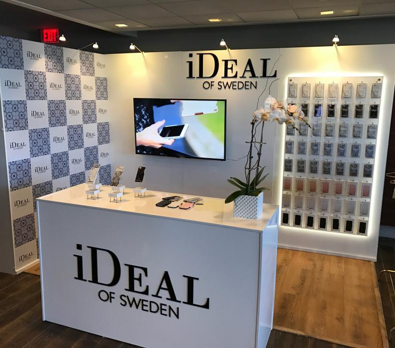 Ideal of Sweden Display for the Oscars Style lounge in Hollywood
