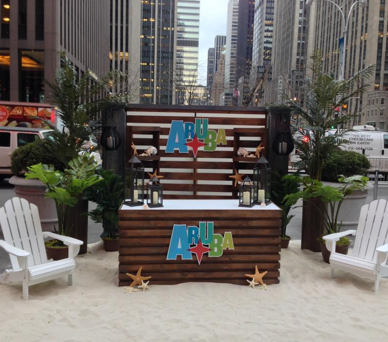 Aruba Brings the beach to Fox and Friends