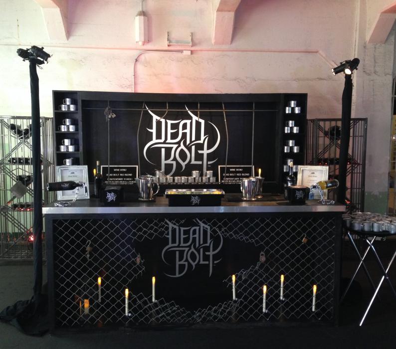 Dead Bolt Pop Up Bars on Alcatraz
