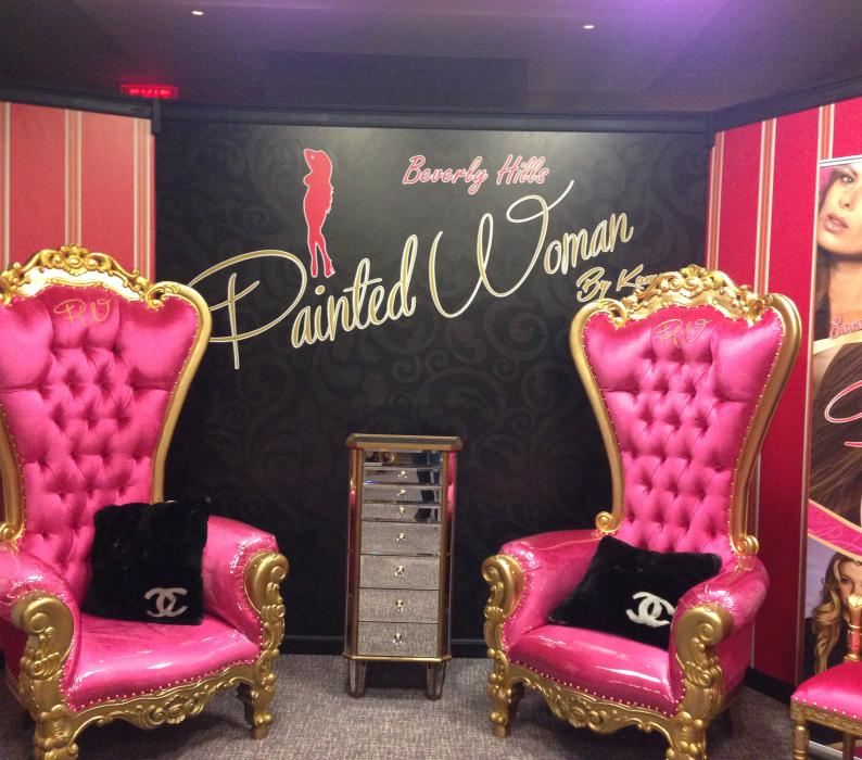 Pink Lady Pop Up Salon Coachella Gifting Suite
