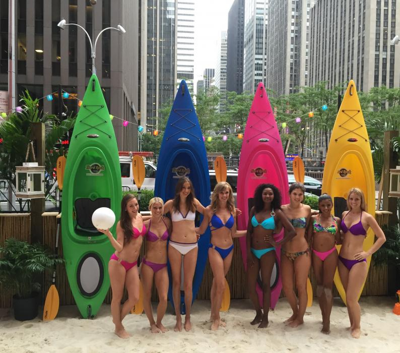 HardRock brings the Beach to Fox and Friends