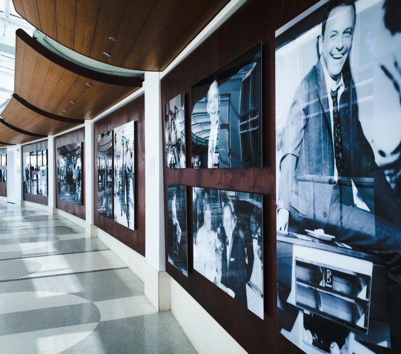 Sinatra Exhibit at the Fontainebleau