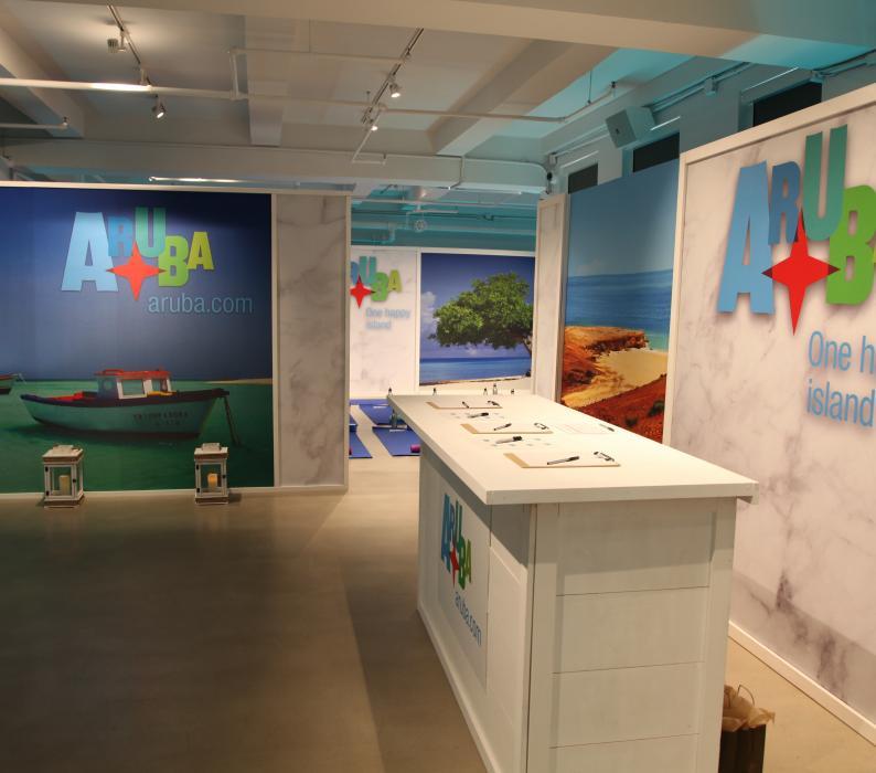 Aruba display Aruba Tourism Wellness Day