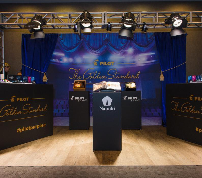 Pilot Pen at the Golden Globe Luxury Style Lounge