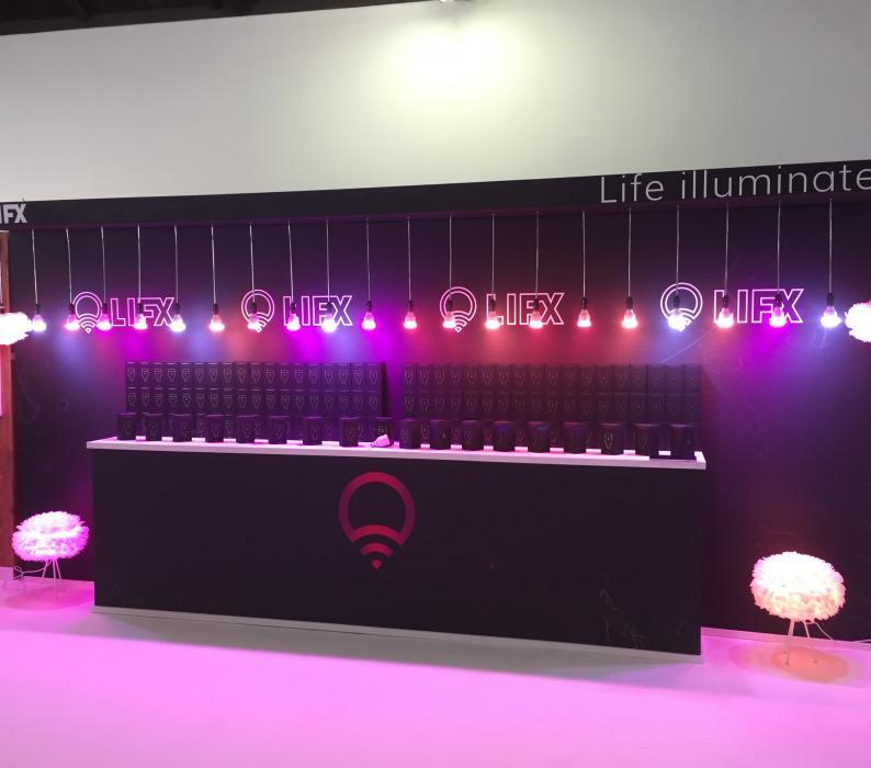 Custom Exhibit Booth For Life Illumination