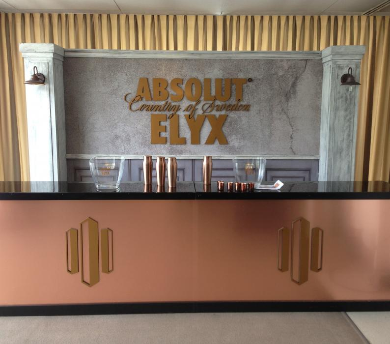 Absolute Elyx Bar at the James Beard Awards NY