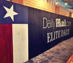 The Wall at Stubbs BBQ for Daily Mail ad Elite Daily during SXSW Austin Texas