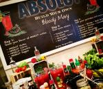 Absolute Bloody Mary Booth at SOBE Festival