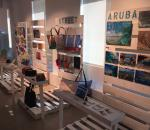 Aruba Artist Market Display