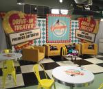 TV SetBreakfast with the Stars at Premious Juventud United Center Miami