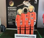 Heads of Space Display OZZY Festival